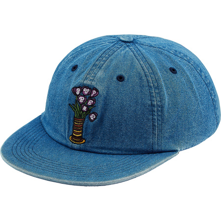 Flowers 6-Panel (Denim)