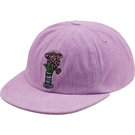 Flowers 6-Panel (Light Purple)