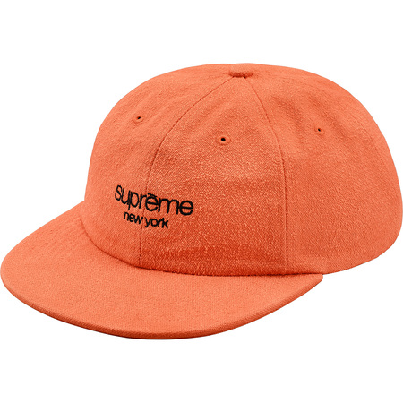 Napped Canvas Classic Logo 6-Panel (Peach)
