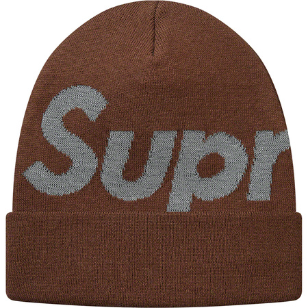 Big Logo Beanie (Brown)