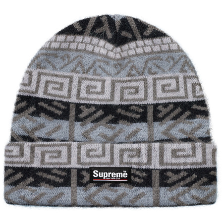 Brushed Pattern Beanie (Black)