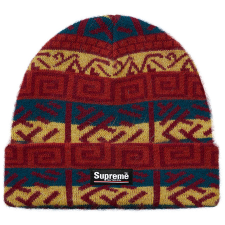 Brushed Pattern Beanie (Navy)