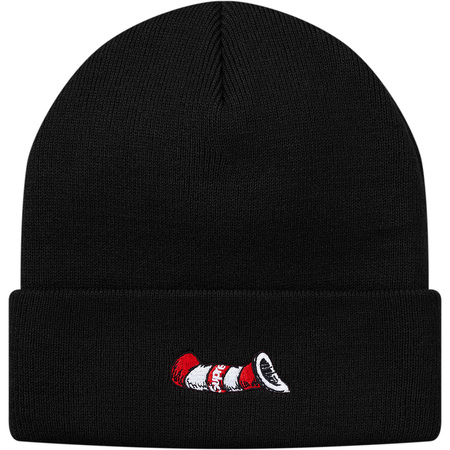 Cat in the Hat Beanie (Black)