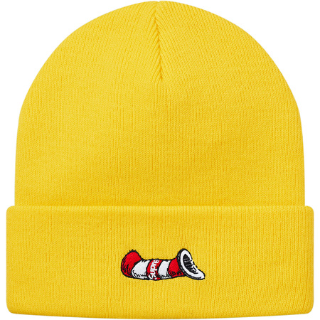 Cat in the Hat Beanie (Bright Yellow)