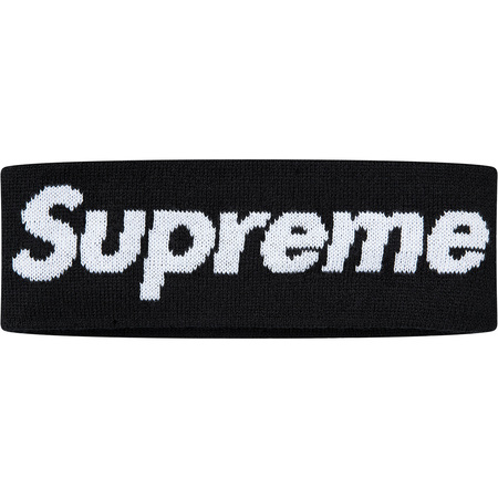 New Era® Big Logo Headband (Black)