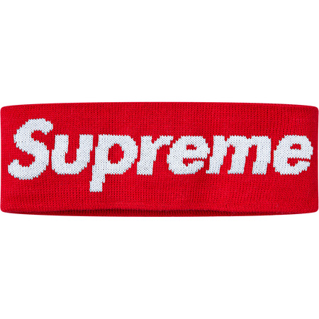 New Era® Big Logo Headband (Red)