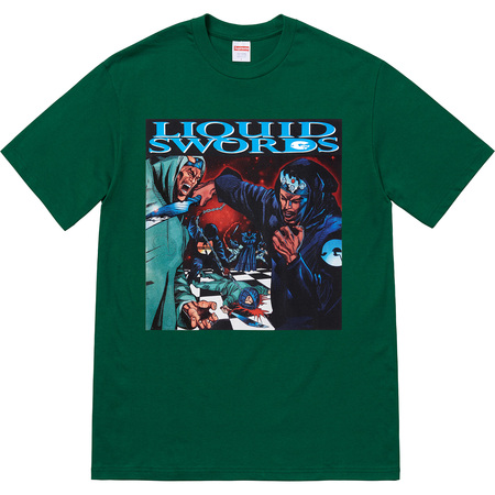 Liquid Swords Tee (Dark Green)