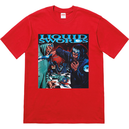 Liquid Swords Tee (Red)