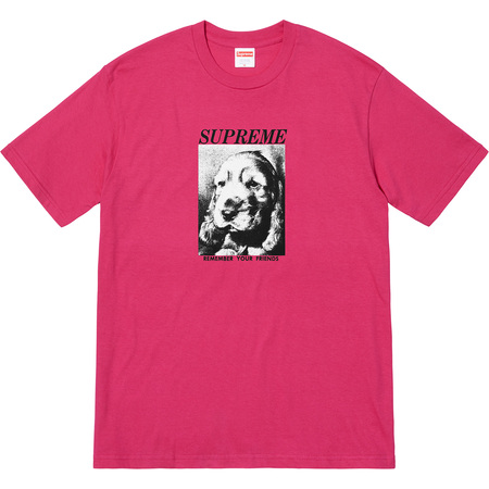 Remember Tee (Dark Pink)