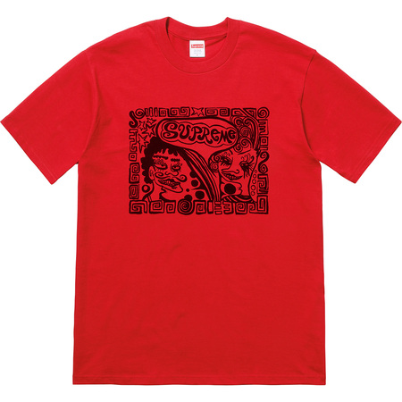 Faces Tee (Red)