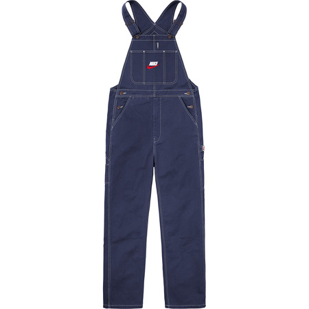 Supreme®/Nike® Cotton Twill Overalls (Navy)