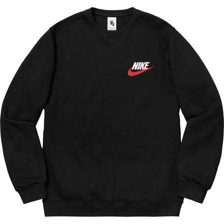 Supreme®/Nike® Crewneck (Black)