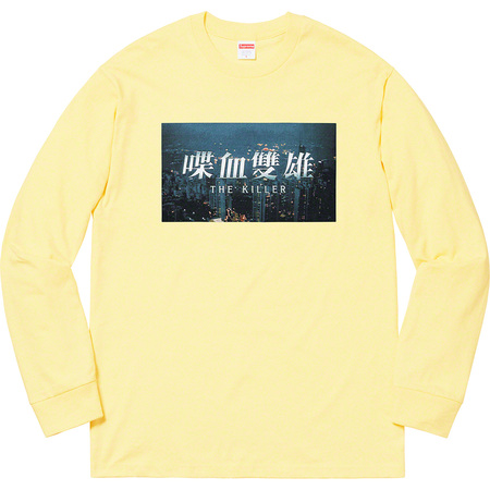 The Killer L/S Tee (Pale Yellow)