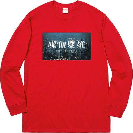 The Killer L/S Tee (Red)