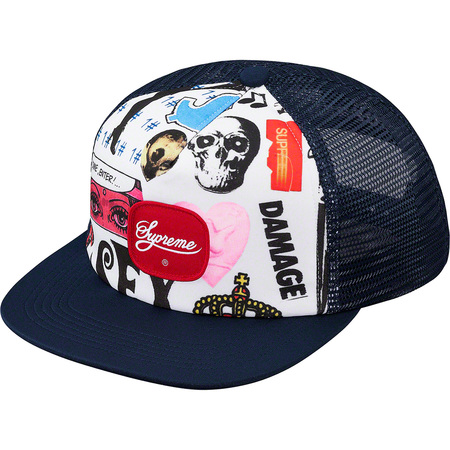 Blood Lust Mesh Back 5-Panel (Navy)