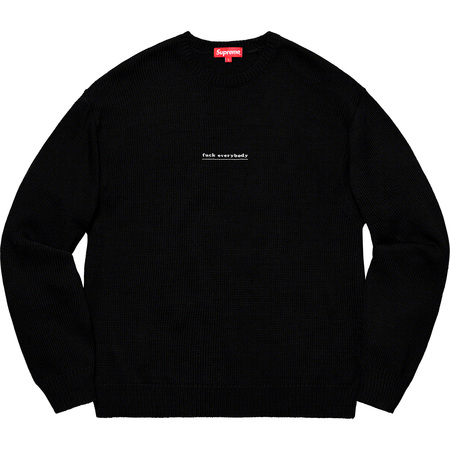 Fuck Everybody Sweater (Black)