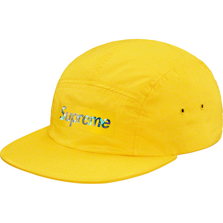 Holographic Logo Camp Cap (Yellow)
