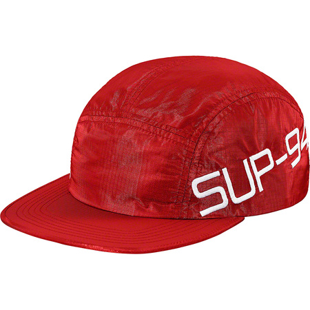 Side Logo Camp Cap (Red)