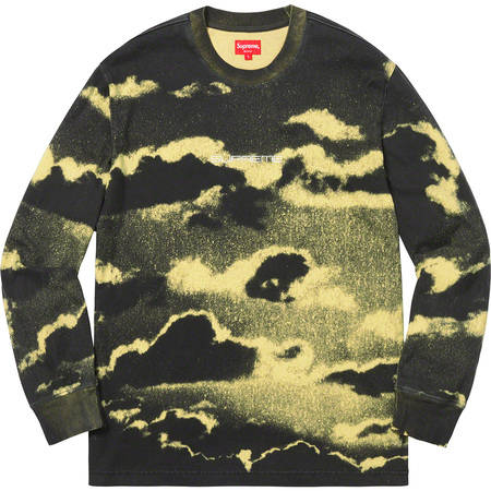 Clouds L/S Top (Pale Yellow)