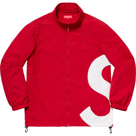 S Logo Track Jacket (Red)
