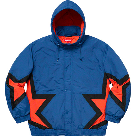 Stars Puffy Jacket (Royal)