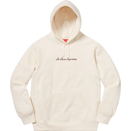Le Luxe Hooded Sweatshirt (Natural)