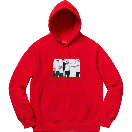 Classic Ad Hooded Sweatshirt (Red)