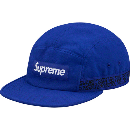 Side Tape Camp Cap (Royal)