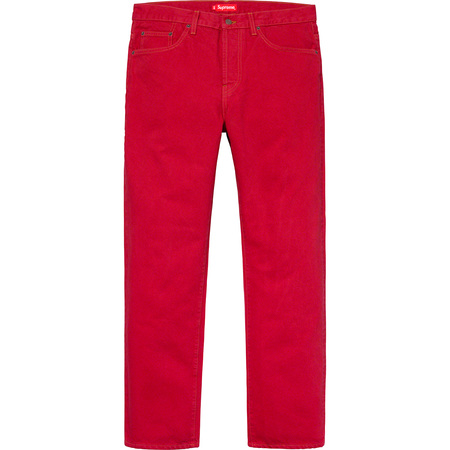 Washed Regular Jean (Washed Red)