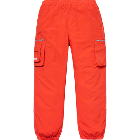 Nylon Cargo Pant (Dark Orange)