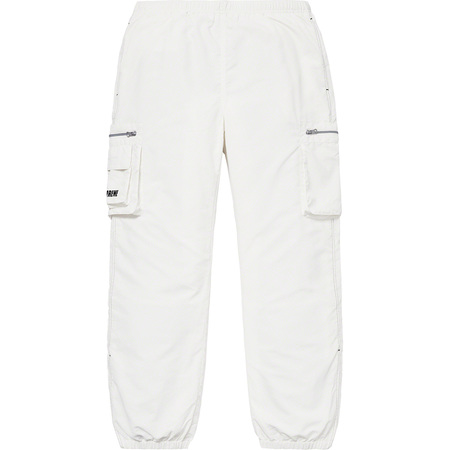 Nylon Cargo Pant (Off-White)