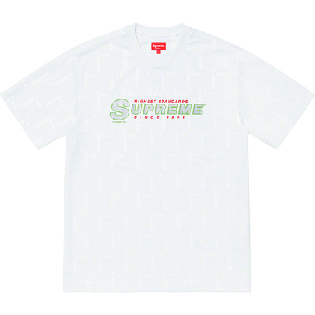 Highest Standards Athletic S/S Top (White)
