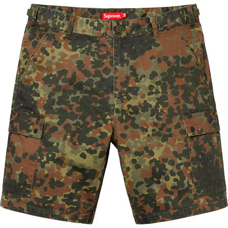 Cargo Short (Olive German Camo)