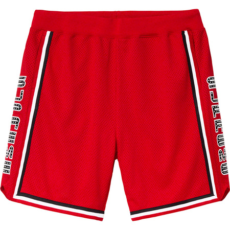 Rhinestone Basketball Short (Red)