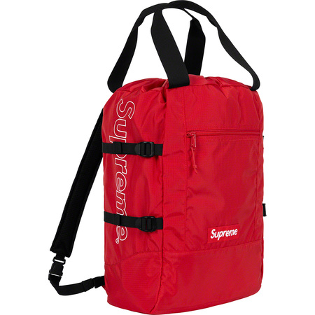 Tote Backpack (Red)