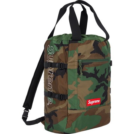 Tote Backpack (Woodland Camo)
