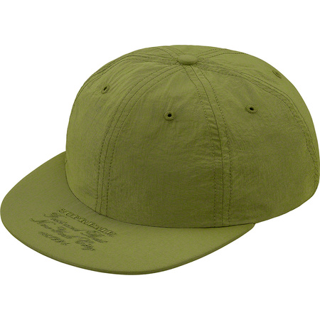 First And Best Nylon 6-Panel (Olive)