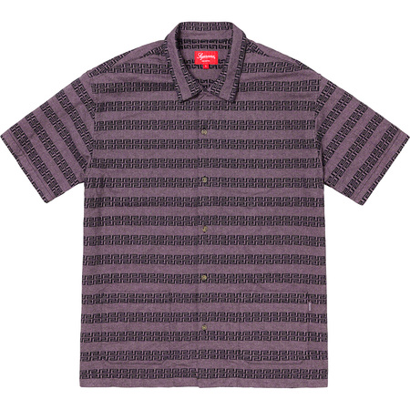 Key Stripe S/S Shirt (Purple)
