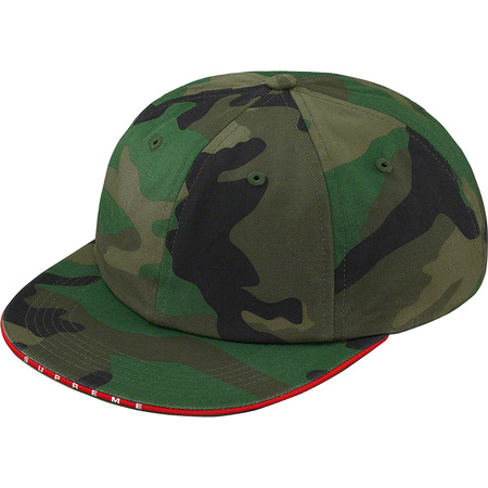 Visor Logo Twill 6-Panel (Woodland Camo)