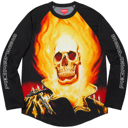 Ghost Rider© Raglan L/S Top (Black)
