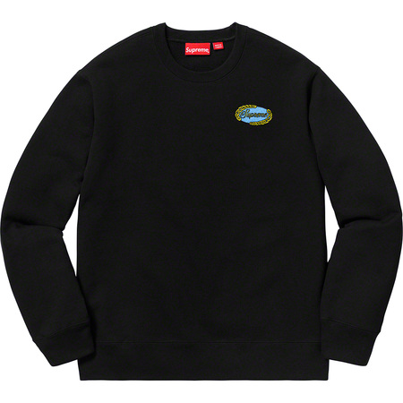 Chain Logo Crewneck (Black)