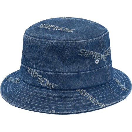 Logo Denim Crusher (Blue)