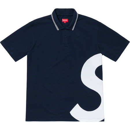 S Logo Polo (Navy)