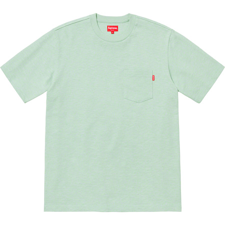 S/S Pocket Tee (Pale Green)