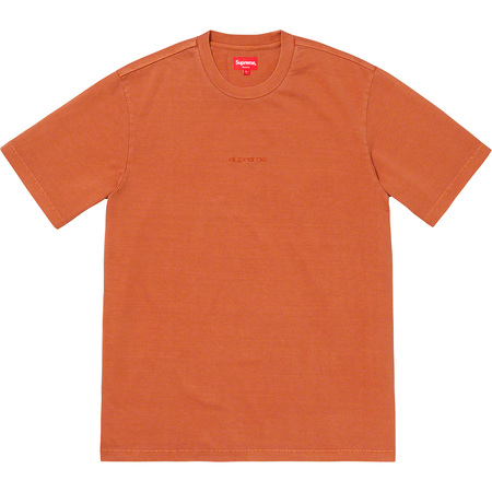 Overdyed Tee (Rust)
