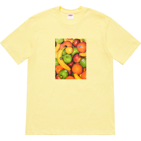 Fruit Tee (Pale Yellow)