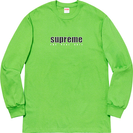 The Real Shit L/S Tee (Green)