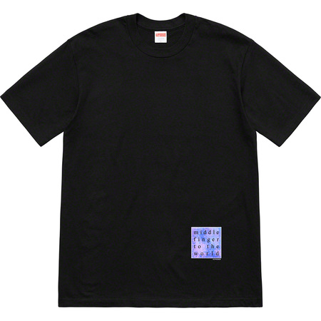 Middle Finger To The World Tee (Black)