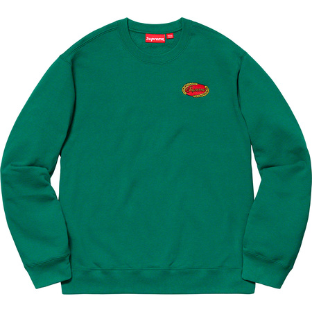 Chain Logo Crewneck (Green)
