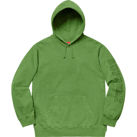 Overdyed Hooded Sweatshirt (Green)